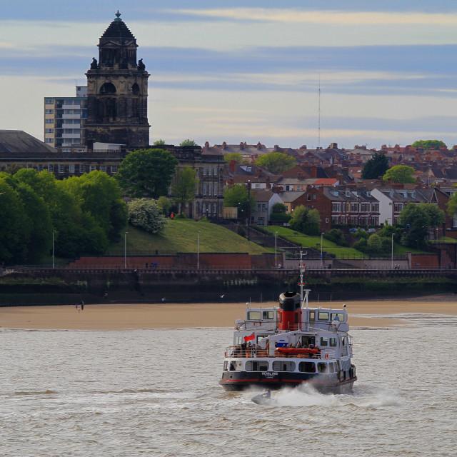 """Royal Iris Mersey Ferry"" stock image"
