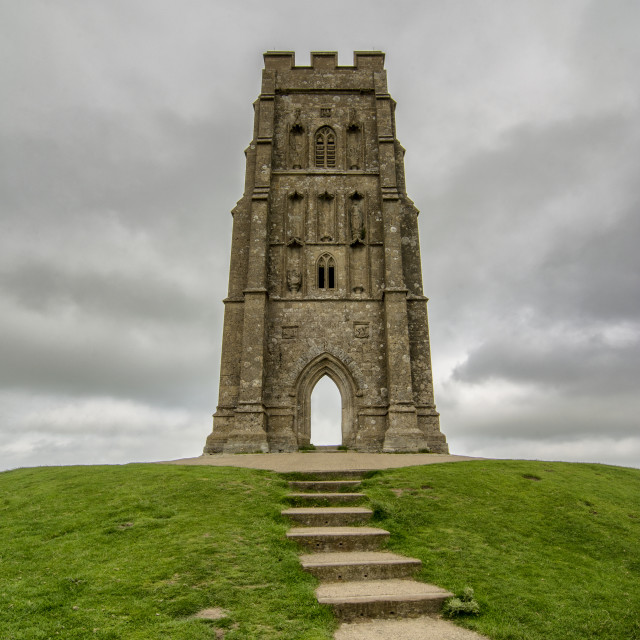 """Glastonbury Tor"" stock image"