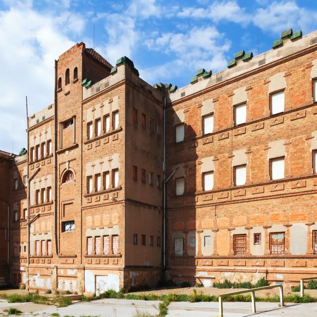 """""""Hospital of the Holy Spirit in Santa CLoloma"""" stock image"""