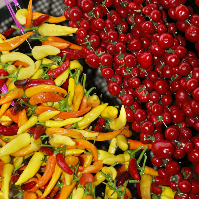 """""""chilli peppers"""" stock image"""