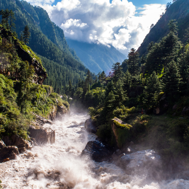 """Parvati Valley, India"" stock image"