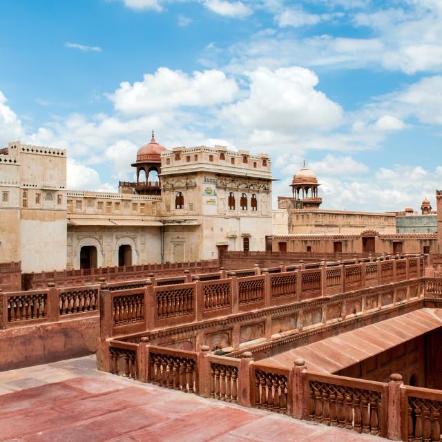 """Junagarh Fort in Bikaner"" stock image"