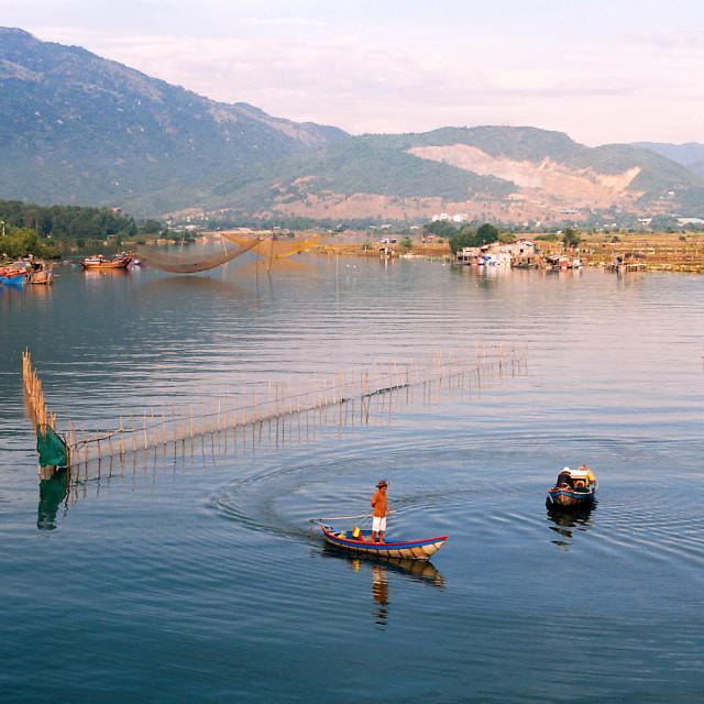 """""""Riverside - Nha Trang / Vietnam"""" stock image"""