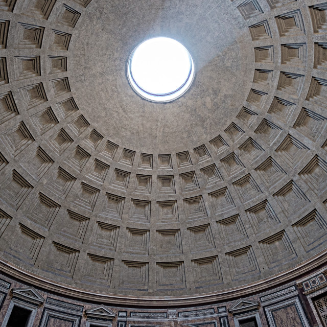 """Pantheon, Rome"" stock image"