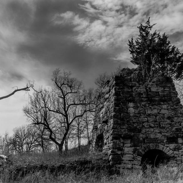 """""""Old Abandoned Kiln"""" stock image"""