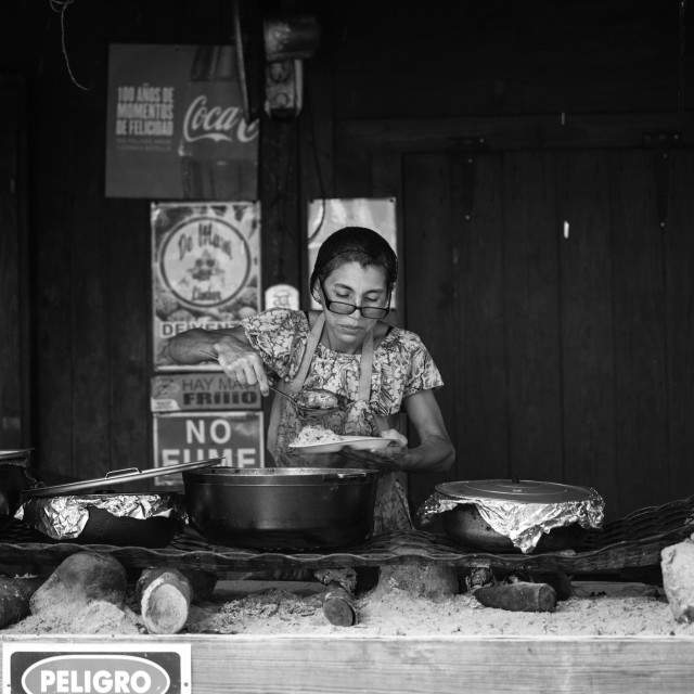 """Food vendor"" stock image"