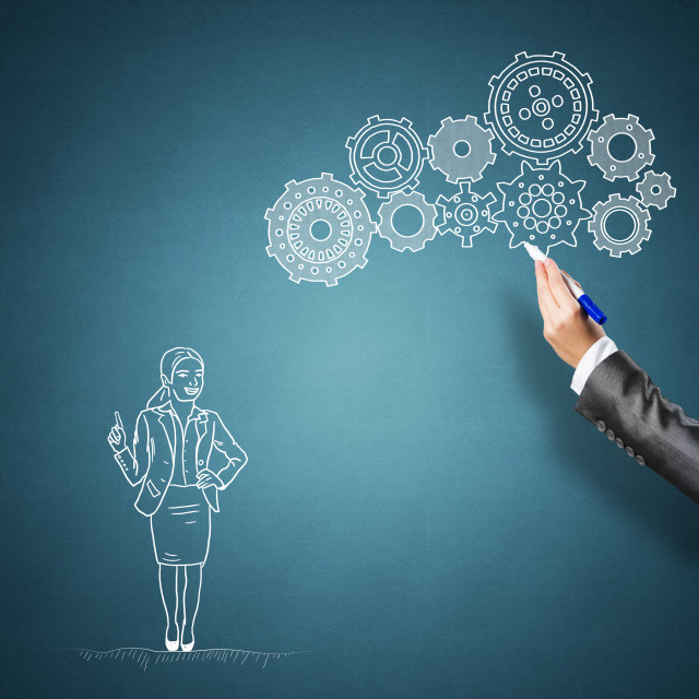 """""""Business collaboration and organization"""" stock image"""