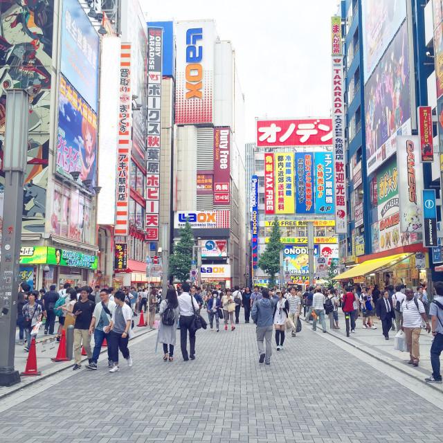 """Akihabara"" stock image"