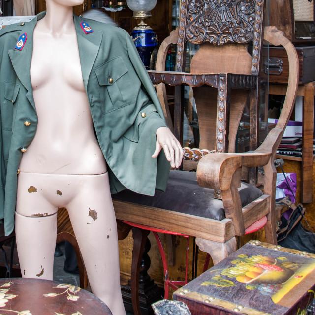"""Flea Market Mannequin."" stock image"