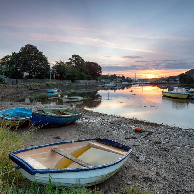 """""""Boats at Millbrook"""" stock image"""