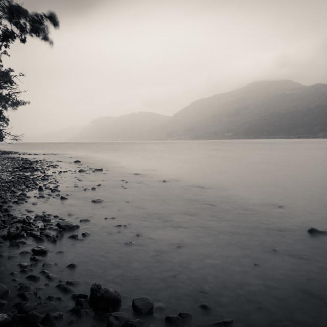 """Loch Ness Shore"" stock image"