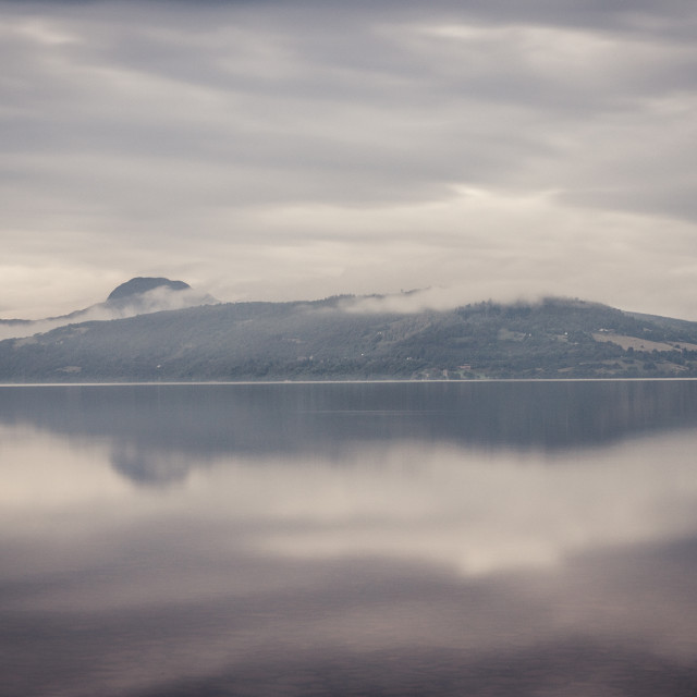 """Mist on Loch Ness"" stock image"