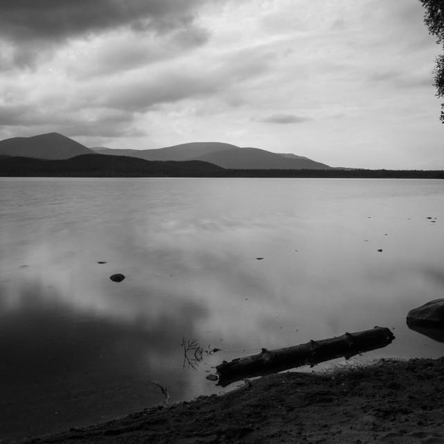 """""""Loch Morlich"""" stock image"""