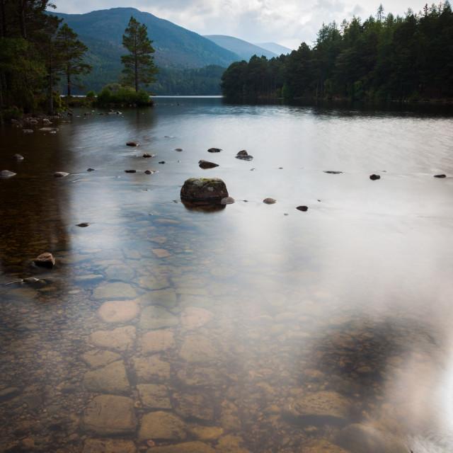"""""""Loch an Eilein"""" stock image"""