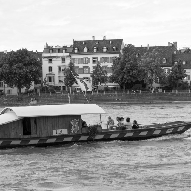 """""""Basel Ferry"""" stock image"""