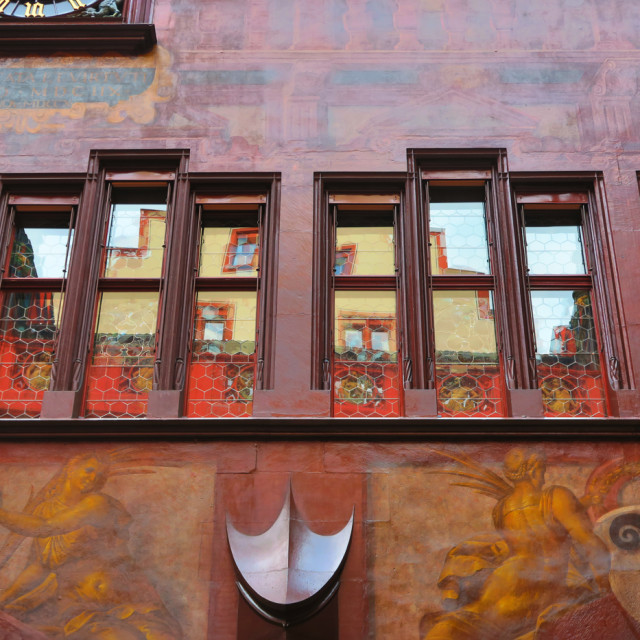 """Castle in Basel"" stock image"