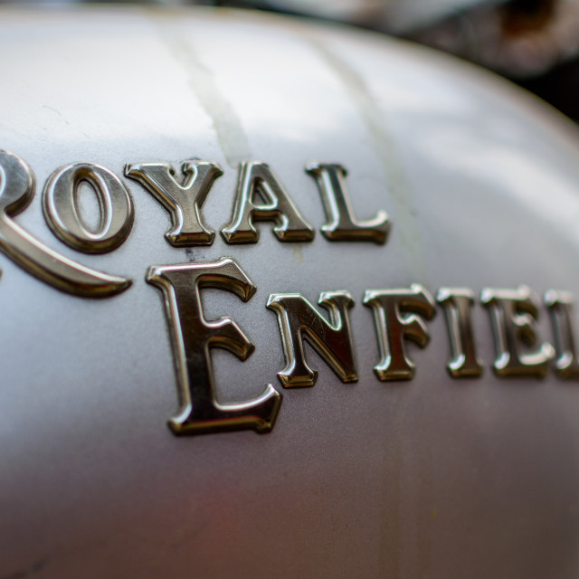 """Royal Enfield"" stock image"