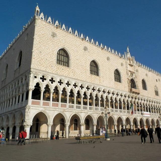 """""""Doge's Palace, Venice"""" stock image"""