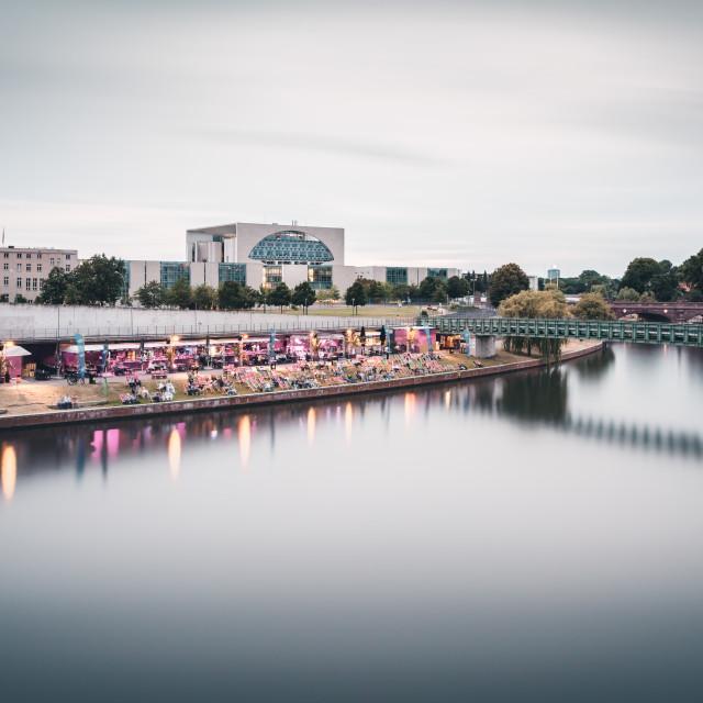 """Ludwig-Erhard-Ufer | Berlin, Germany 2016"" stock image"