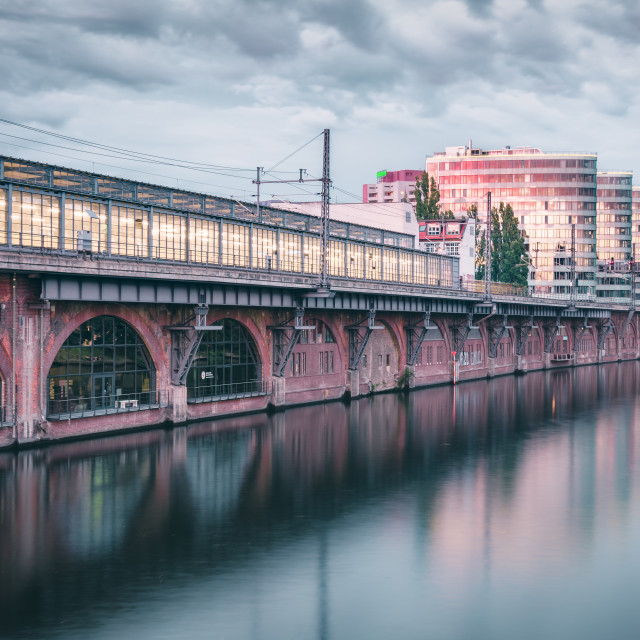 """Jannowitzbrücke | Berlin, Germany 2016"" stock image"
