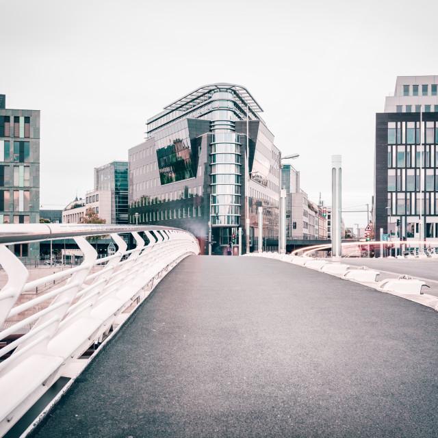 """Kronprinzenbrücke | Berlin, Germany 2016"" stock image"