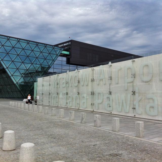 """Krakow Airport"" stock image"