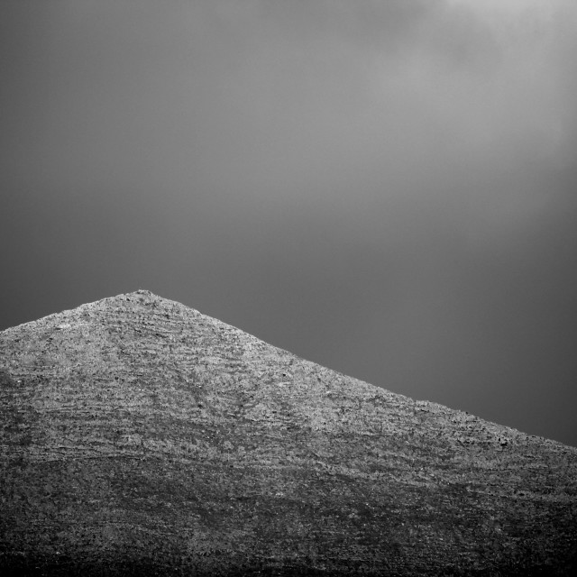 """""""Lonely Mountain"""" stock image"""