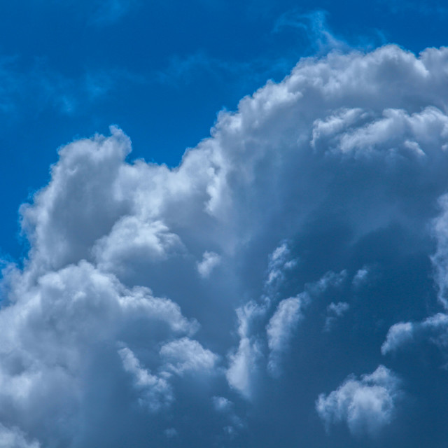 """Cumulus Clouds"" stock image"