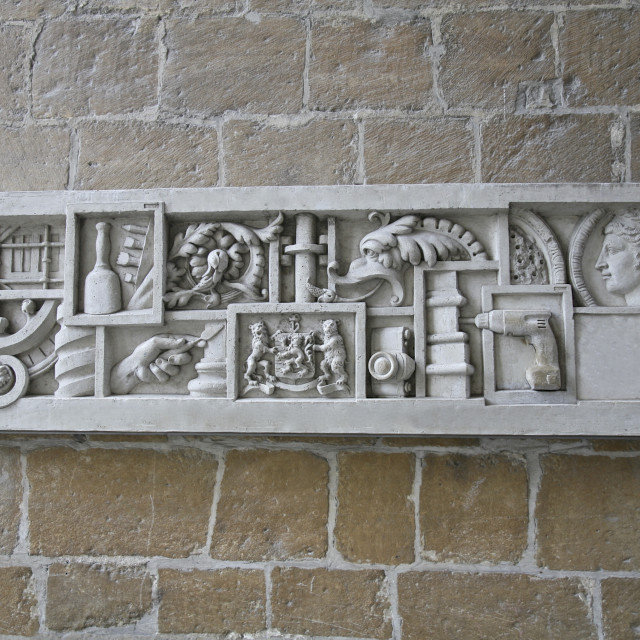 """""""Brugge church in Belgium"""" stock image"""