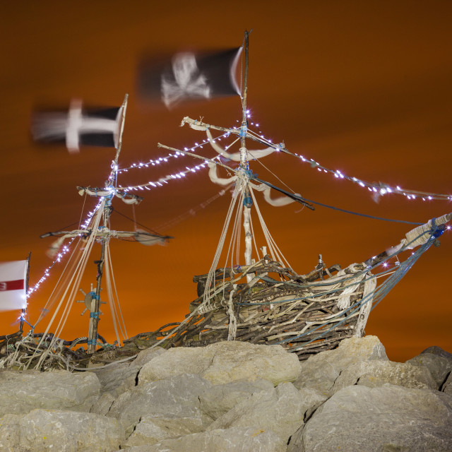"""Grace Darling Pirate Ship"" stock image"