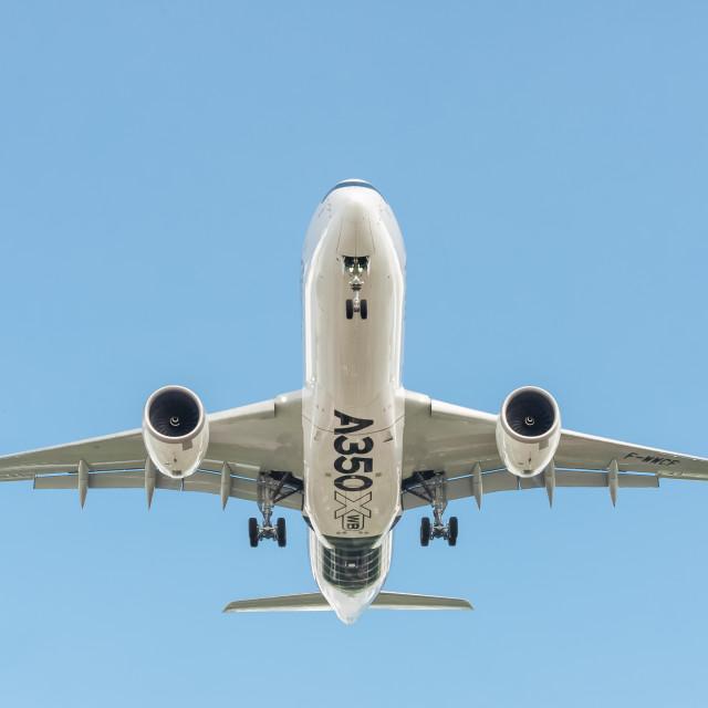 """Airbus A350 XWB"" stock image"
