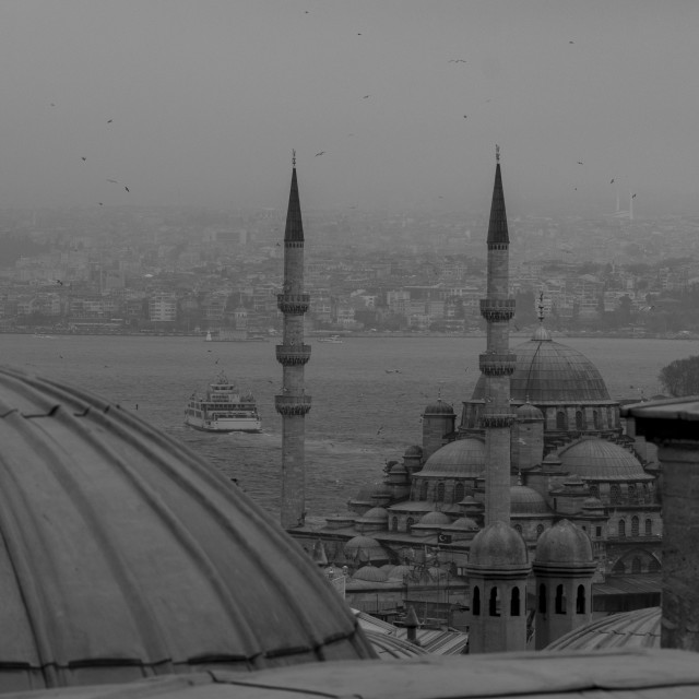 """Istanbul from above"" stock image"