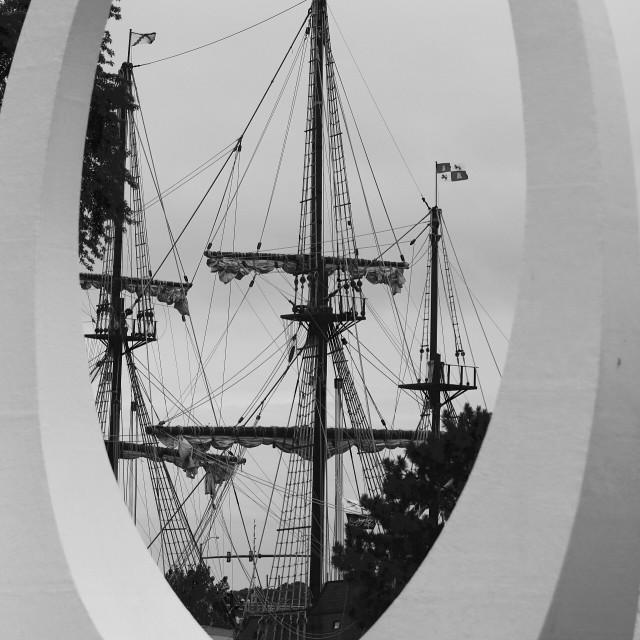 """Tall Ship Festival"" stock image"