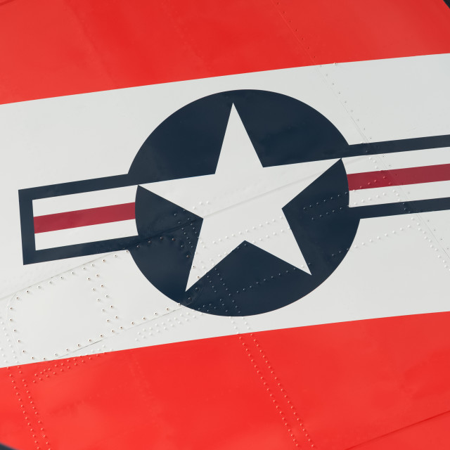 """US aircraft insignia"" stock image"