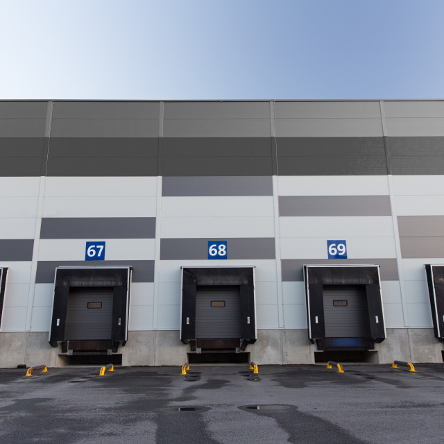 """logistic warehouse gates"" stock image"