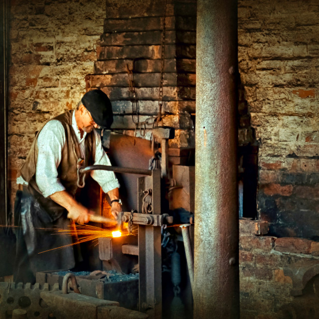 """""""Industry. The Black Country"""" stock image"""