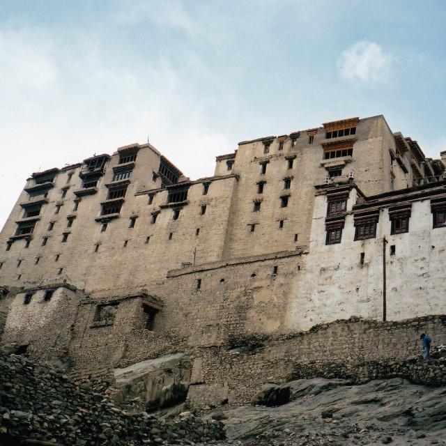 """""""Leh palace, Ladakh (2)"""" stock image"""