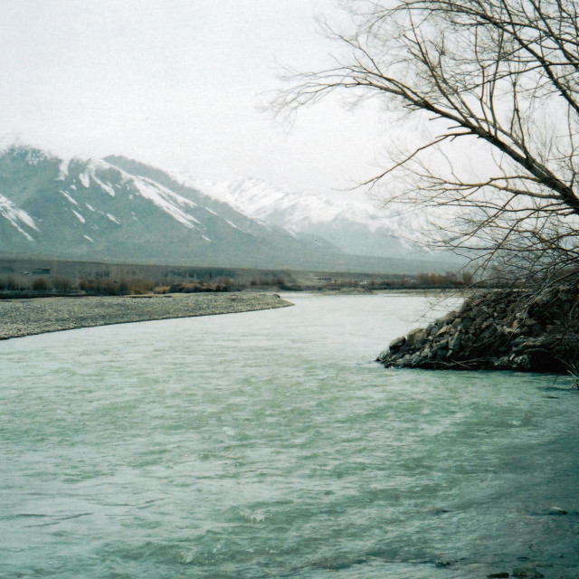 """""""River Indus"""" stock image"""