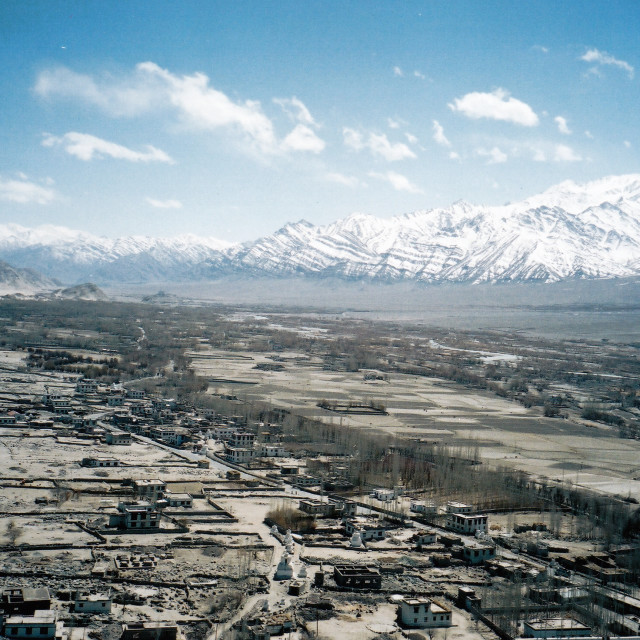 """View of Ladakh, India"" stock image"