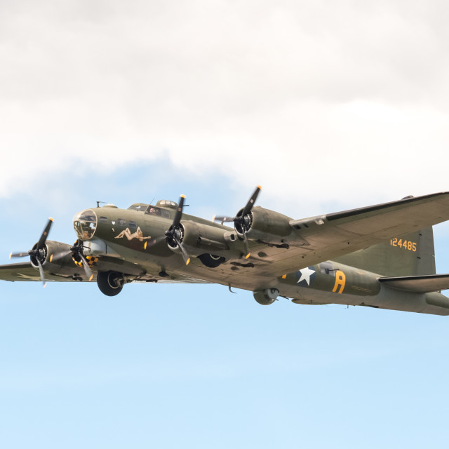 """Boeing B-17 Flying Fortress"" stock image"