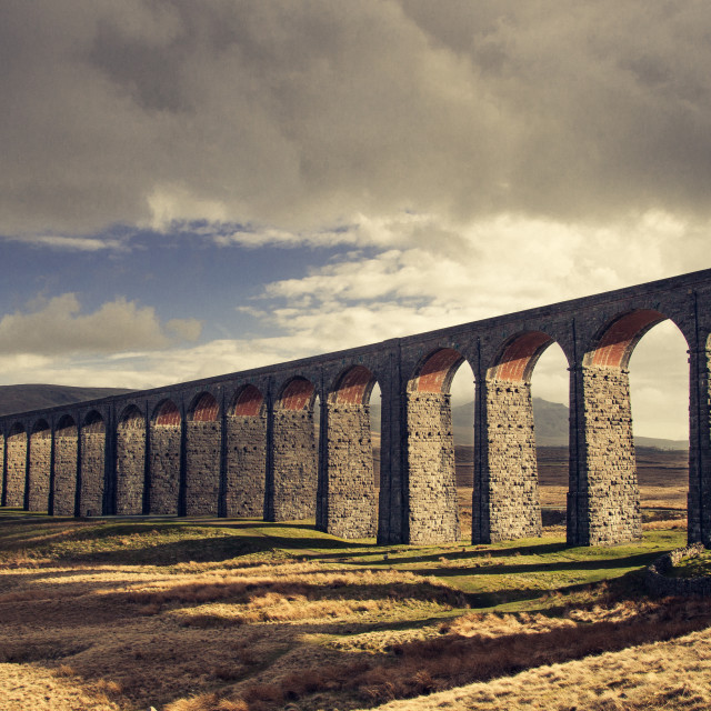 """Ribblehead"" stock image"