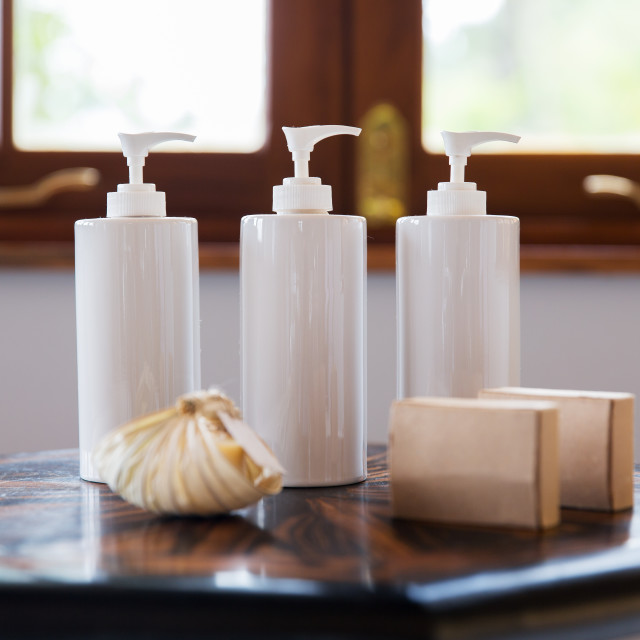 """""""close up of liquid soap or body lotion at bathroom"""" stock image"""