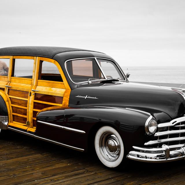 """Pontiac Woody"" stock image"