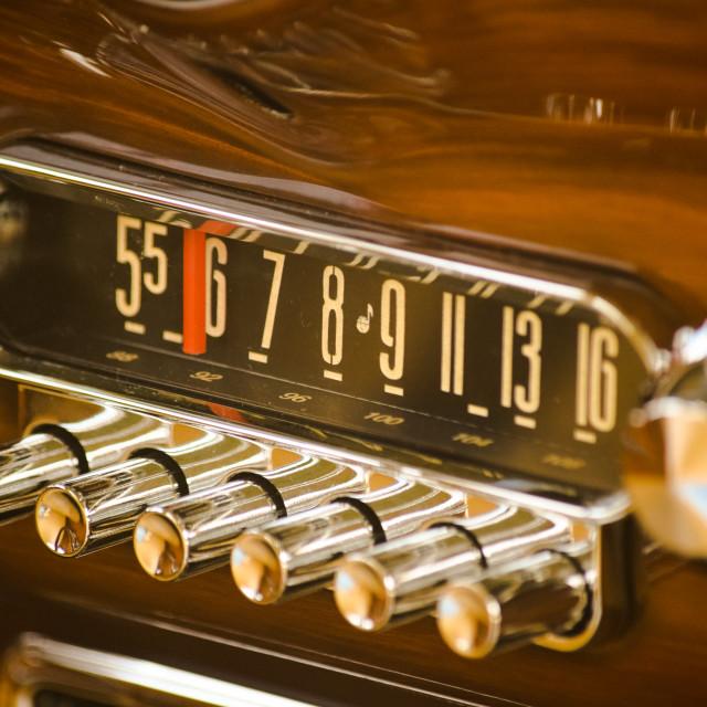 """""""Vintage Car Details"""" stock image"""