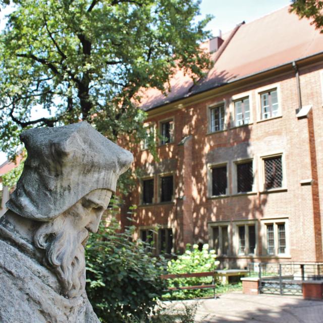 """Jagiellonian University, Krakow"" stock image"