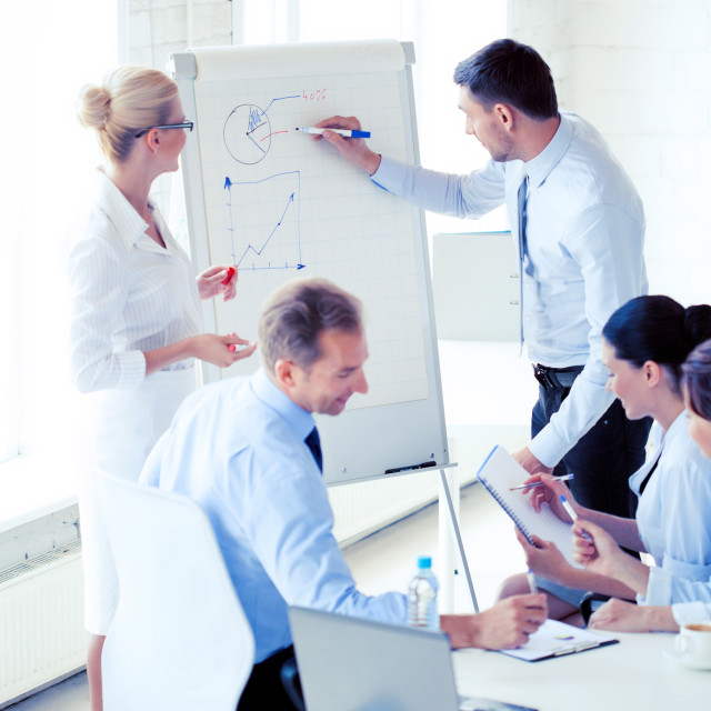 """""""business meeting in office"""" stock image"""