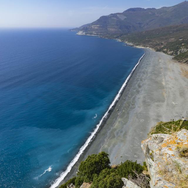 """""""Nonza gulf - Corsica"""" stock image"""