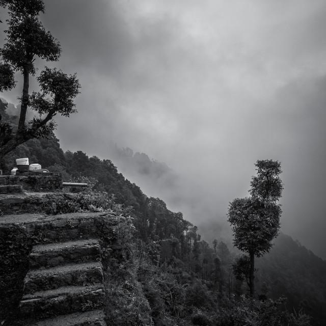"""""""Mountain Residences - Study 1"""" stock image"""