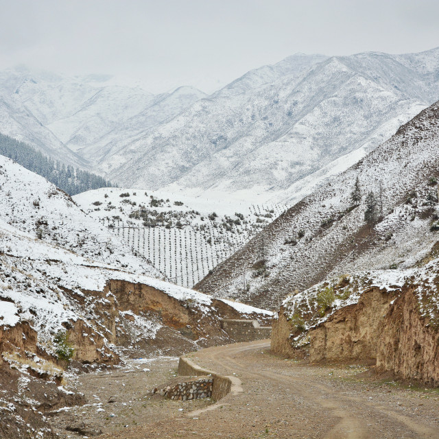 """""""The Road To Xiahe"""" stock image"""