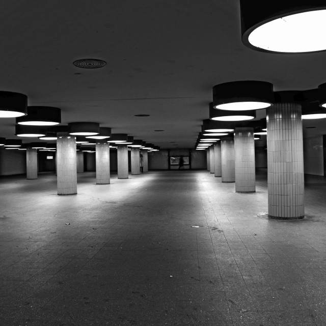 """Underpass Berlin"" stock image"